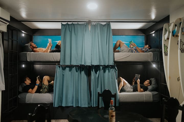 Bed in Bunk Room (Co-Ed Quad)