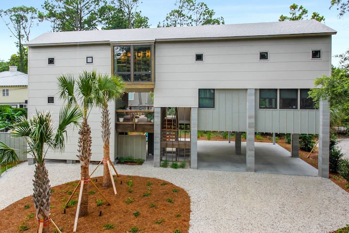 New Modern Guest Suite on Quiet North End of Tybee