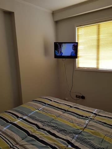Departamento amoblado dos dormitorios