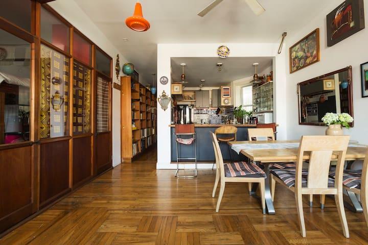 Sunny 3 Bedroom Loft Apt in LES Downtown Manhattan - Nova Iorque - Apartamento