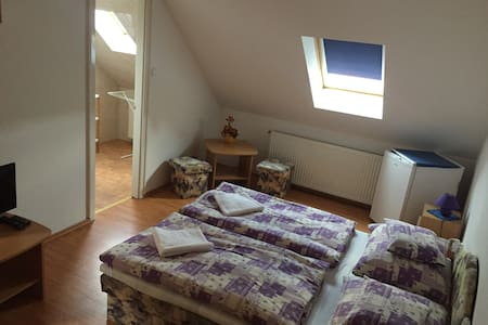 Hubertus ház, 4ágyas szoba-Parádóhuta-Mátra