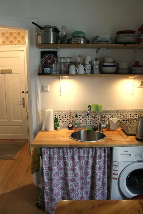 Kitchen // Small hall