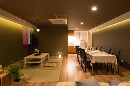 10ppl★Ideal Location★1min Namba FreeWifi - Apartment