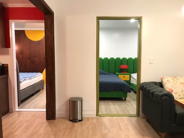 Cheap Hotel :) 3room&4beds 6mins *Gwanganri*@Busan