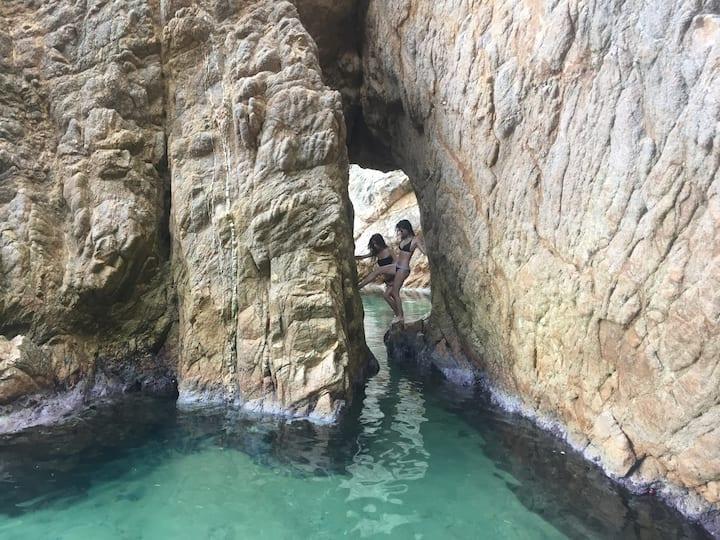 Fotos entre rocas únicas