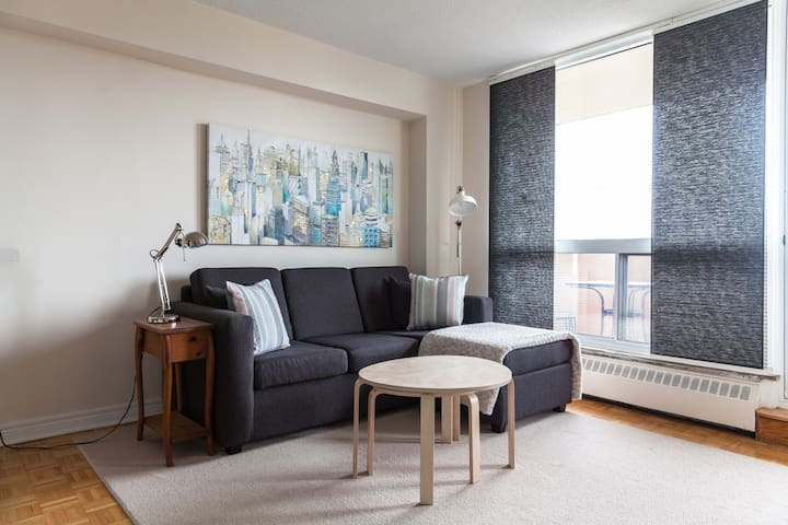 1 Bedroom Apt Downtown, Great Location and View!