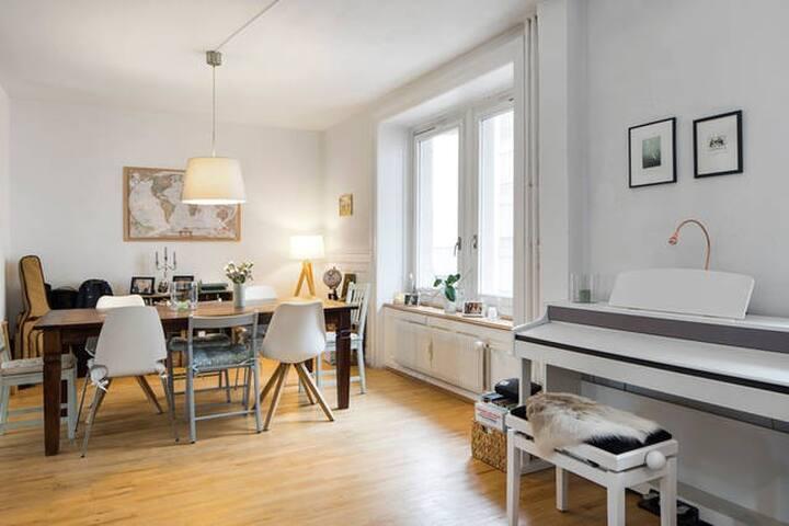 Spacious and charming apartment / Wiedikon - Zürich - Flat