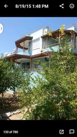 Didim-Akbük'de dublex, bahçeli ev - Akbük Belediyesi - House
