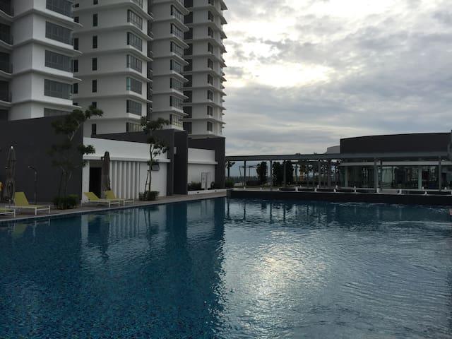 安全方便的单人床 - Kuala Lumpur - Apartment