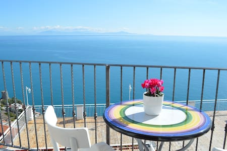 Flat Malù - Great view and central location - Praiano