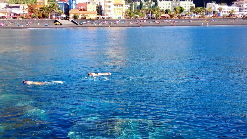New apartment 3Floor Tazacorte,100m. from beach! - Puerto - Byt