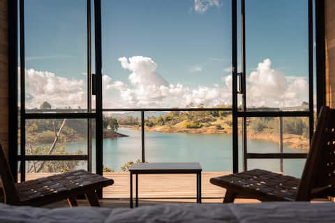Cabaña privada con vista al lago - Boato hotel 4