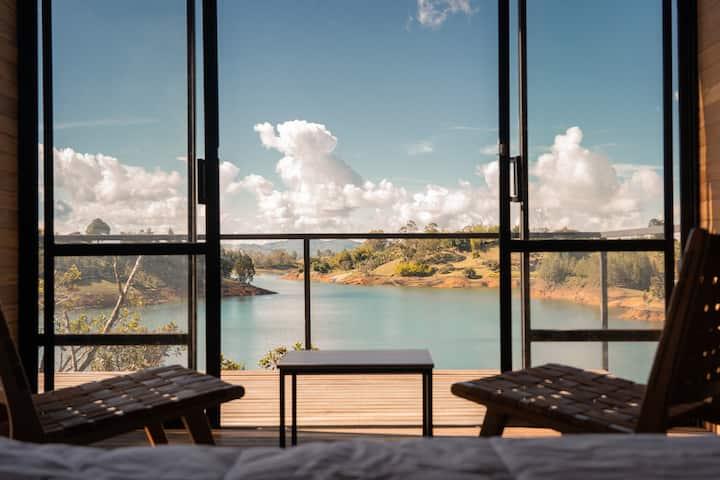 Cabaña Privada con Vista al Lago - Boato Hotel 1