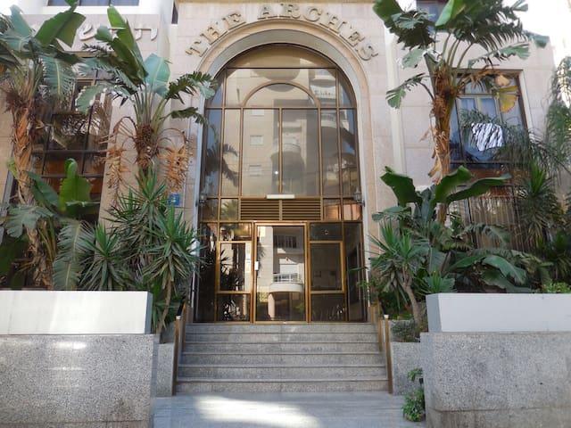 Bel appartement Kikar Hatzmaout, centre et plage