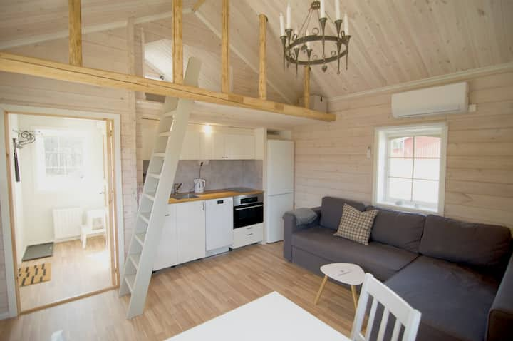 Modern cottage in Hjulbäck, Siljansnäs