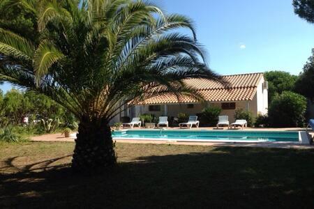 Belle villa méditerranéenne - Haus