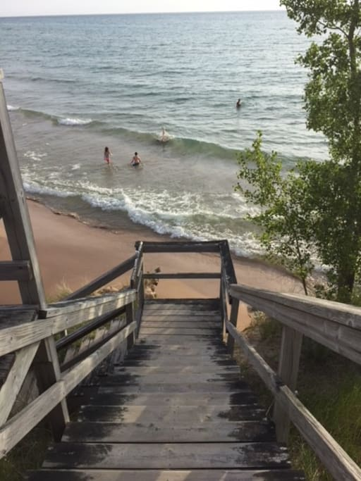 Lake Michigan Access