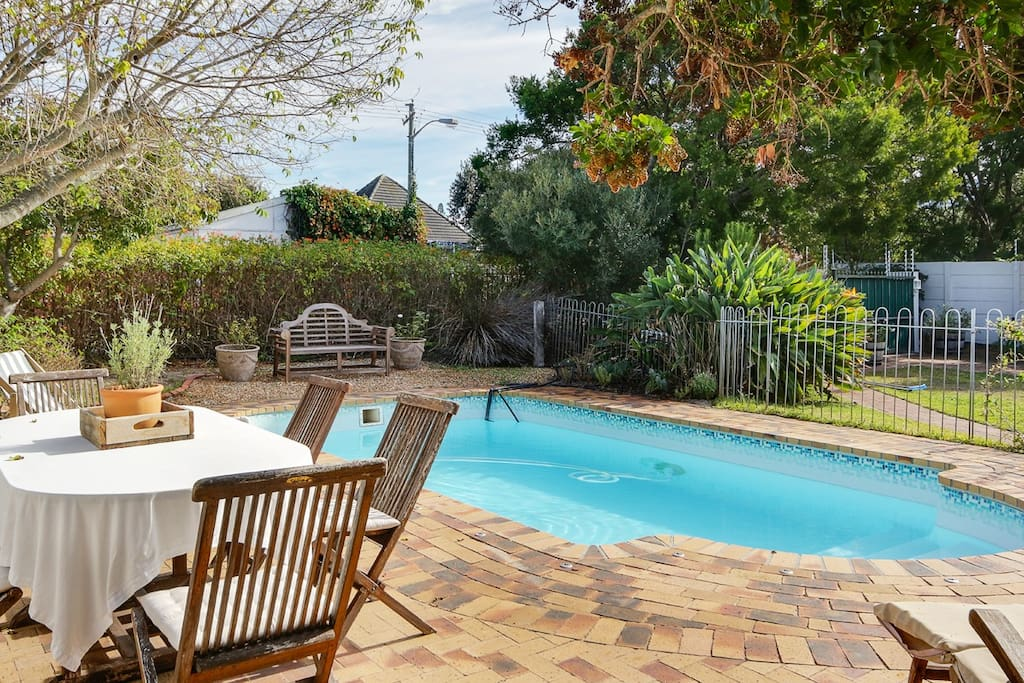 Swimming pool and outdoor entertaining area
