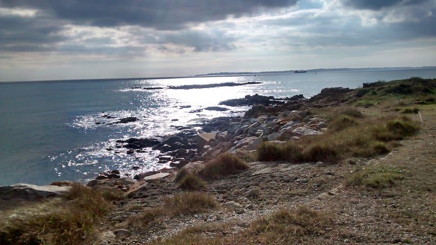 L'Anomie : Gîte indépendant Golfe du Morbihan - Bono - Huis
