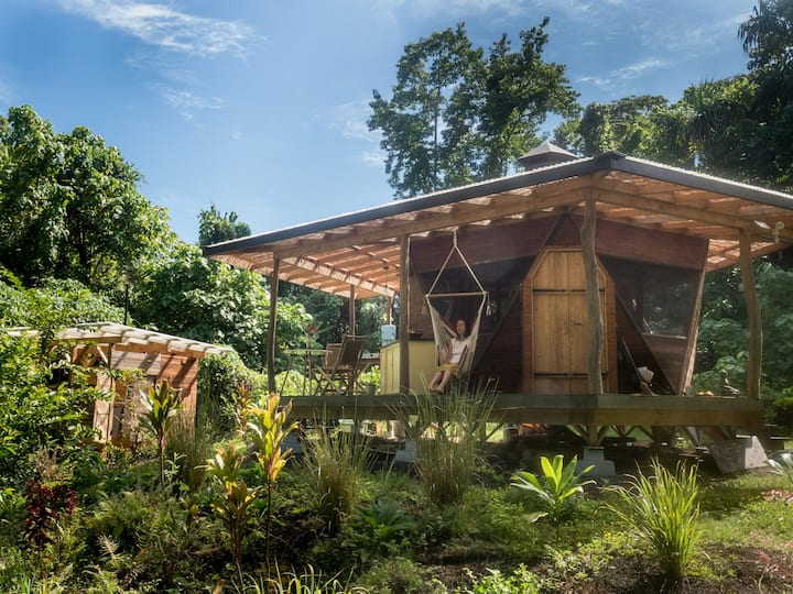 Secluded  Bungalow in Organic Homestead