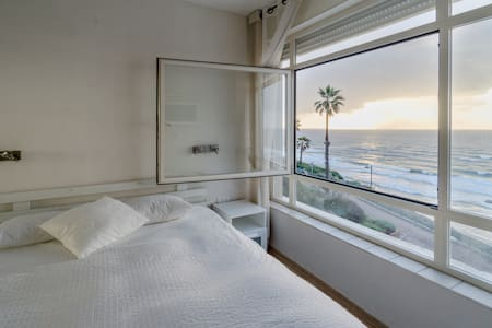 Superbe appartement face à la mer - Netanya - Appartement
