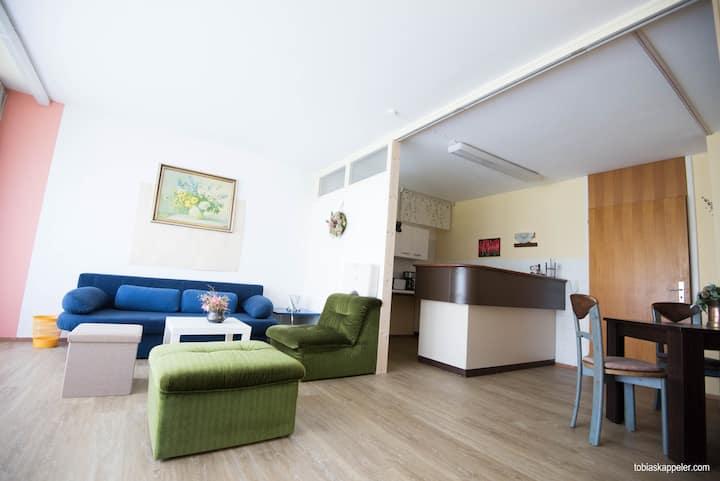 EG-Wohnung (100 m²) mit Garten