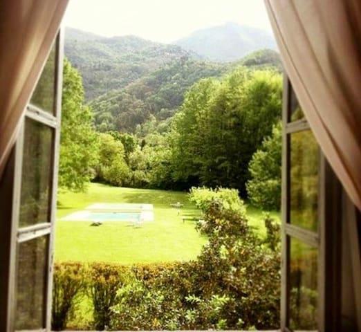Luxurious apt,pool,parking space,air-conditioning - Camaiore - Lägenhet
