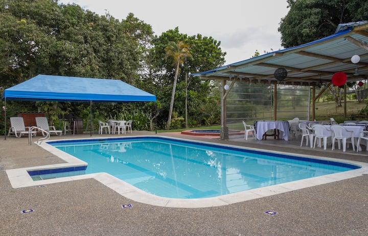 Tropical Mountain Villa Bedrooms