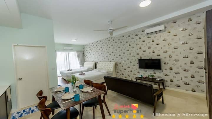 Silverscape 1507  Melaka Home Stay By I Housing