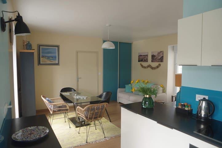 Bel appartement lumineux idealement situé