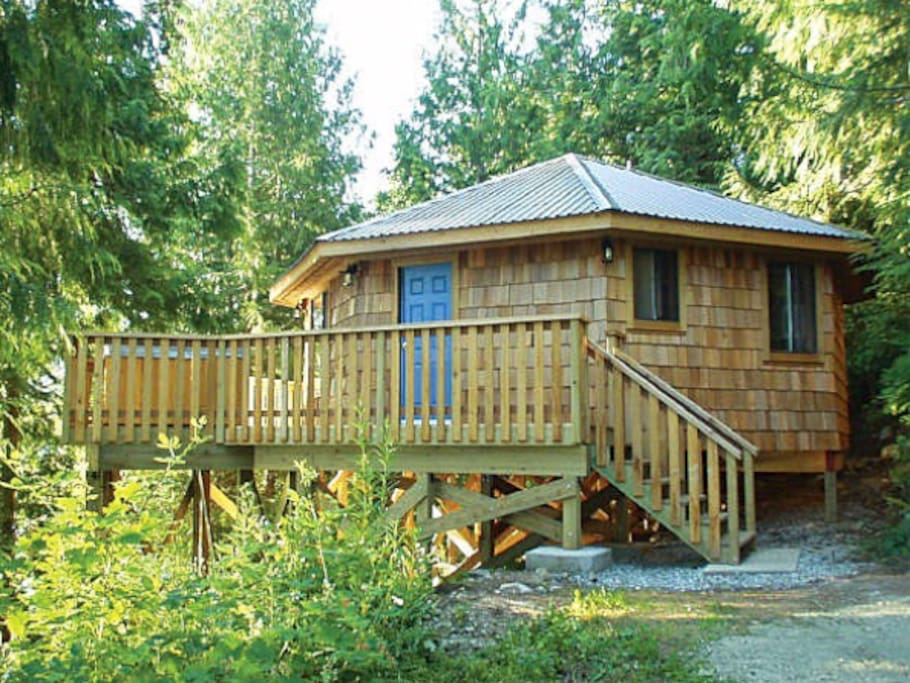 Your chalet is nestled away in the surrounding seaside forest
