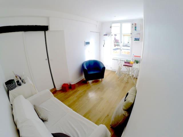 Central - Studio au coeur de Paris - Les halles