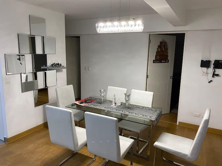 Habitación en dpto compartido Monterrico-Surco