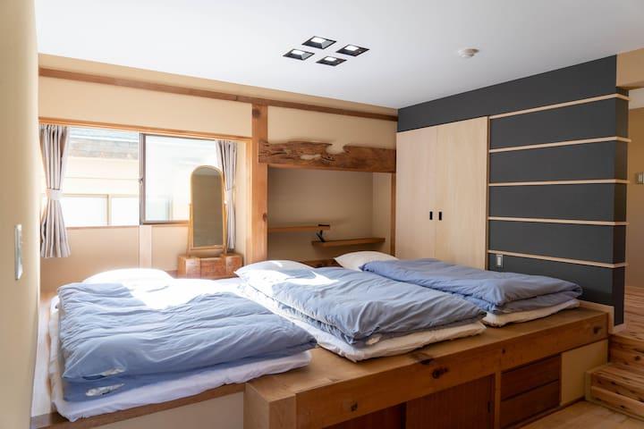 """富士山ゲストハウス 掬水 個室 「駿河」(Private Room """"Suruga"""")"""