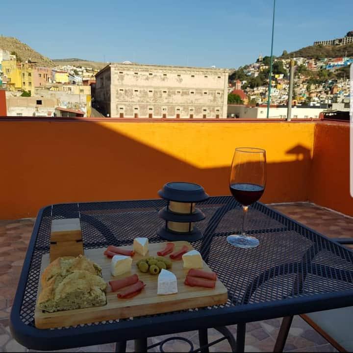 Hotel en el centro histórico de Guanajuato