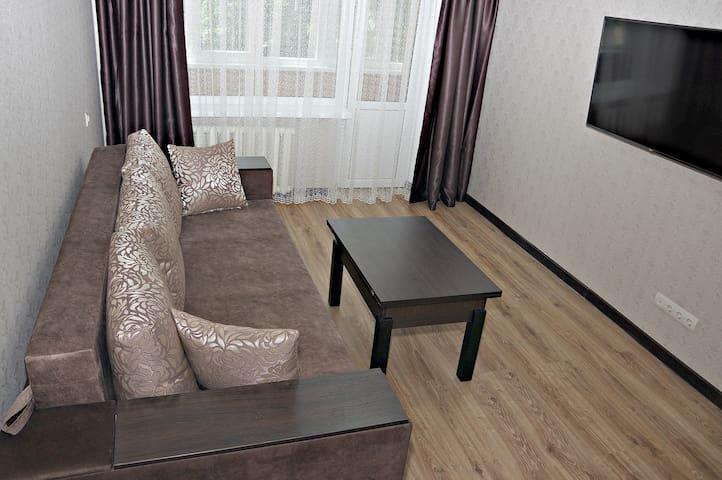 2-к уютная квартира на Мотеле с евроремонтом