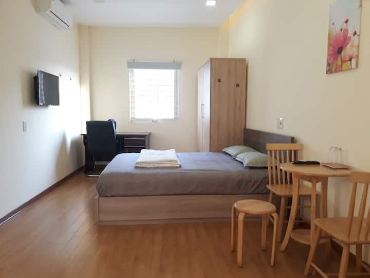 Căn hộ trung tâm Đà Nẵng full nội thất 2-3 người