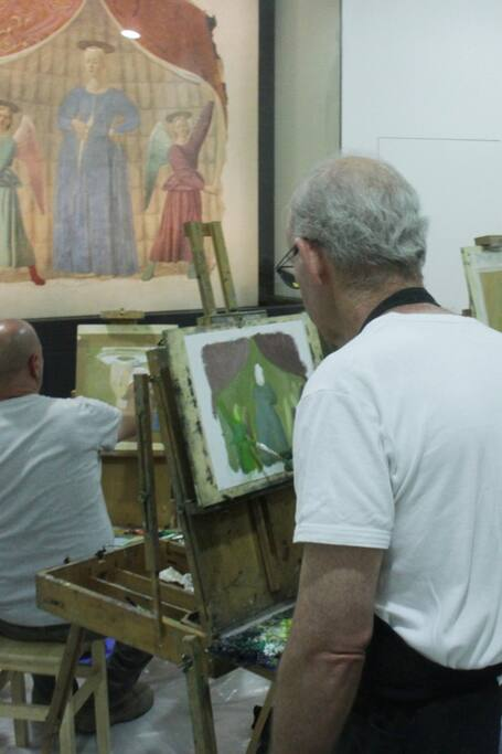 P. della Francesca workshop, Monterchi