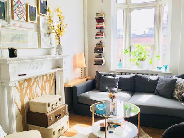 Designer Home: Sunny private room️