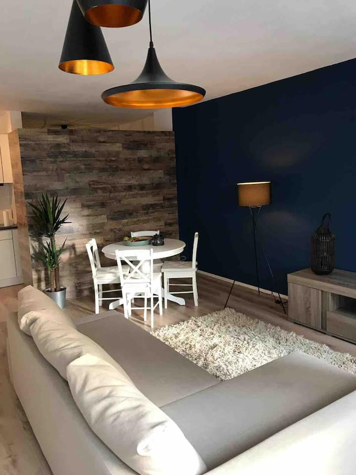 Cosy & luxe appartement in centre(free parking)