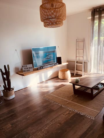 Appartement esprit naturel et paisible