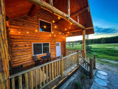 Mountain View Log Cabin