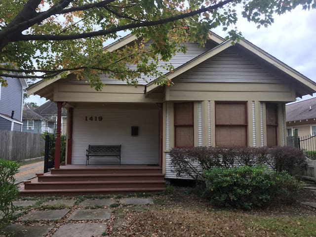 Historic Heights Bungalow for the Super Bowl! - Houston - House