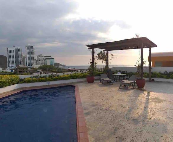 Stunning Duplex in Historic District: Santa Marta!
