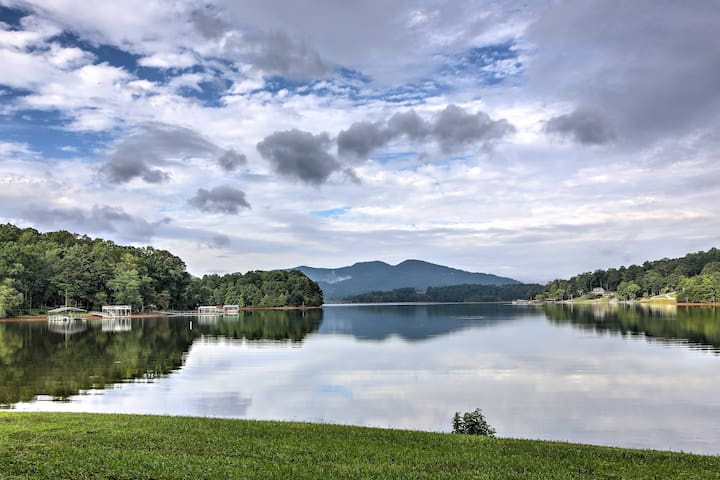 NEW! Hiawassee Home w/ Indoor Pool & Private Dock!