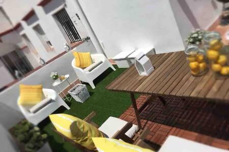 Plaza Mina. Penthouse with solarium(WIFI)