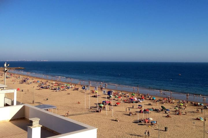 Piso 1ª linea Playa de la Costilla - Rota - Appartement