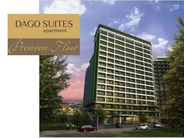 Dago Suite 2BR, up to 5 people (great for sharing)