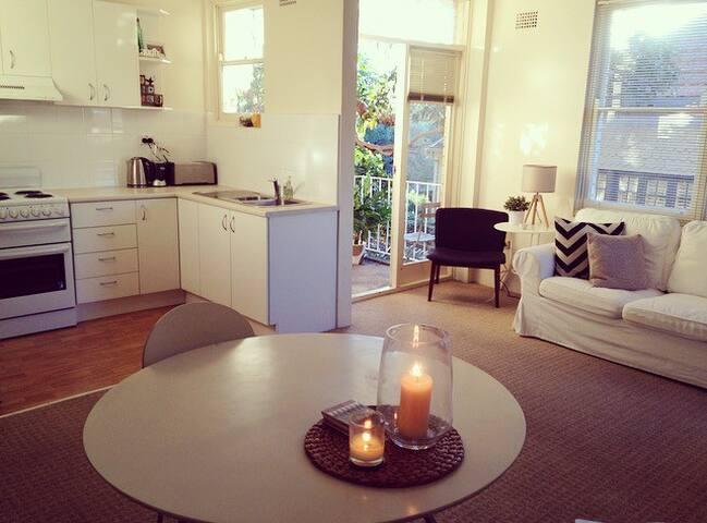 Mosman apartment; brilliant locatio