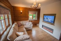 Stylish interiors in the cosy woodland theme